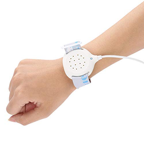 Qkiss ältere Kinder Bettnässen Alarm Nächtlicher Enuresis Alarm Sensor Monitor Enuresis-Alarm für Babys Bettnässen Alarm mit Lautstärkeregelung