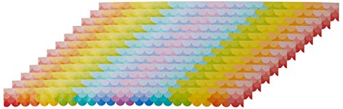 Creative Teaching Press Painted Palette Ombre Scallops Border, Rainbow...