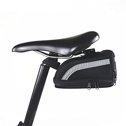 xisong Bolso de Silla de Montar Paquete de Almacenamiento de Bicicletas Asiento Trasero Silla de Montar Bicicleta Smart Scooter eléctrico Bicicleta Plegable E-Bike Bolsa de Montar de Bicicleta