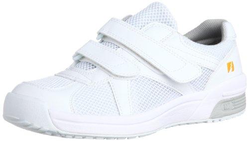 [ミドリ安全] 静電作業靴 静電気帯電防止 マジックタイプ スニーカー エレパス 307 メンズ ホワイト 30.0(30cm)
