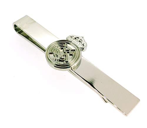 Pasador de Corbata Real Madrid Acero | Pisa Corbatas Para usar en Bodas y en Eventos formales   Da un toque Elegante