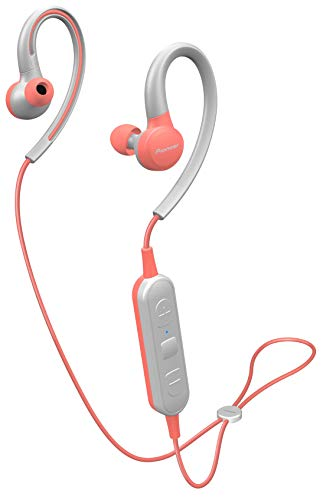 Pioneer SE-E6BT(P) In-Ear Allround Bluetooth Kopfhörer (6 Stunden Spielzeit, Bluetooth, IPX4 Spritzwassergeschützt, Freisprechfunktion, Pioneer Notification App) pink