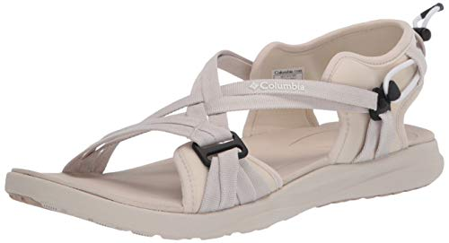 Columbia Sandal, Sandalia Mujer, Blanco (Fawn, White 102), 38 EU