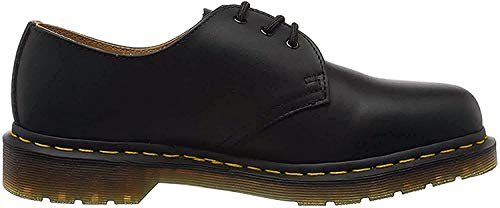 Dr. Martens 1461 Scarpe brogue stringate, Unisex Adulto, Nero (Black Smooth), 38 EU