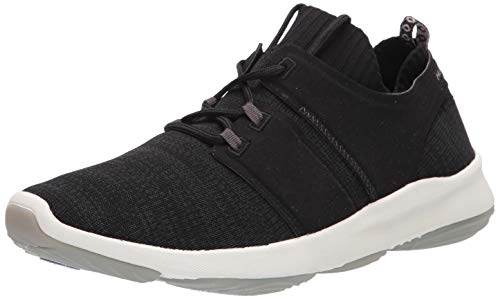 Hush Puppies World Oxford, Black Knit, 13 W US