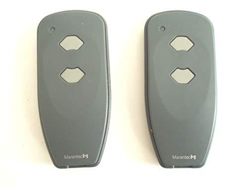 2 x Marantec Digital 382 Mini Handsender 433 MHz * Nachfolger Digital 302 * - Funksender Fernbedienung Garagentoröffner 122421