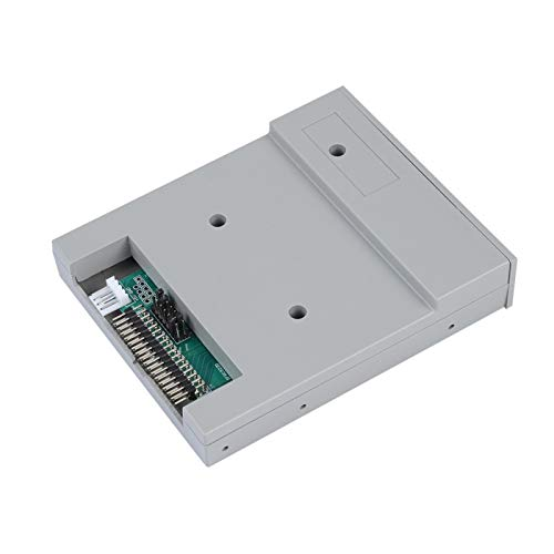 Goshyda Disketten-USB-Emulator, 3,5-Zoll-ABS 1,44 MB USB-SSD-Diskettenlaufwerk-Emulator Diskettenemulator für industrielle Steuergeräte mit 1,44 MB Diskettenlaufwerk