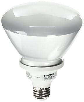Sylvania 29452 - CF23EL/BR40/827/RP Flood Screw Base Compact Fluorescent Light Bulb