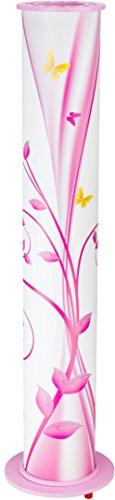 Elobra staande lamp, E27, roze, wit