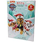2019 Christmas Advent Holiday Countdown Calendar with 24 Milk Chocolates (Nickelodeon PAW Patrol)