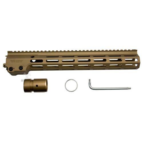 レイルハンドガード/Geissele SMR MK16 M-LOK 13.5' 各社M4 用(アルミ DDC 13.5インチ)
