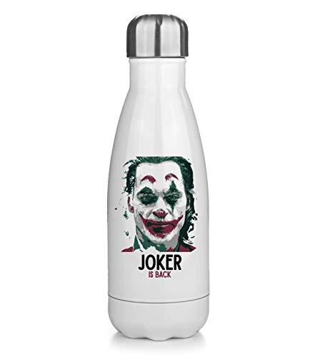 borraccia termica joker NoMoreFamous Joker Is Back Face Portatile Borraccia Mantenere Caldo e Freddo Thermos Bottle