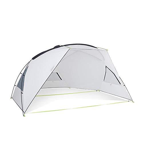 Ouuager-Home Tente Les Gens Tente imperméable à l'ombre d'extérieur Camping Poids léger (Color : White, Size : 355 x 180 x 178cm)