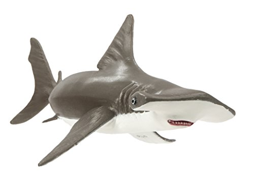 Safari Ltd Incredible Creatures Collection – Hammerhead Shark Baby – Realistic Hand Painted Toy Figurine Model – Quality Construction from Safe and BPA Free Materials – For Ages 3 and Up