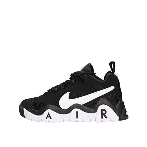 Nike Air Barrage Low, Zapatillas de básquetbol para Hombre, Black/White/White, 47.5 EU