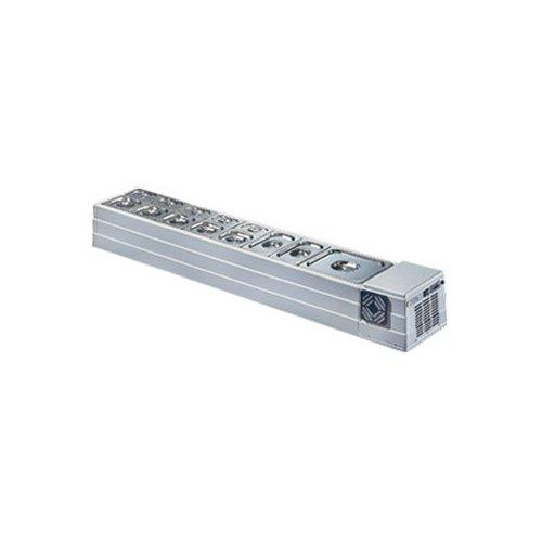 Vetrina frigorifero frigor banco frigo bar cm 183x33x23 +2 +10 RS2250