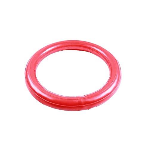 TangMengYun Yoga Ball Verdickung explosionsgeschützt Yoga Ball Sitz Fitness Ball Ring Basis Kind schwanger Kind Hebamme (Color : Red, Größe : Washer)