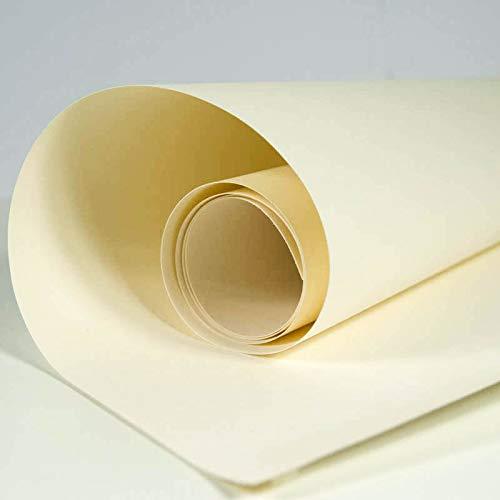 SnapPap weiß - Papier in Lederoptik Kreativpapier Waschbares Papier