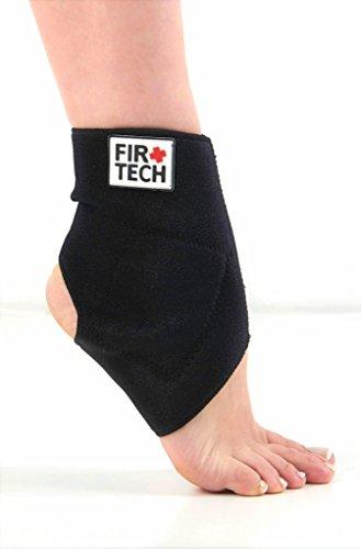 FIR TECH Orthopädische beheizbare Knöchelbandage gegen Fußgelenkschmerzen & Verstauchung