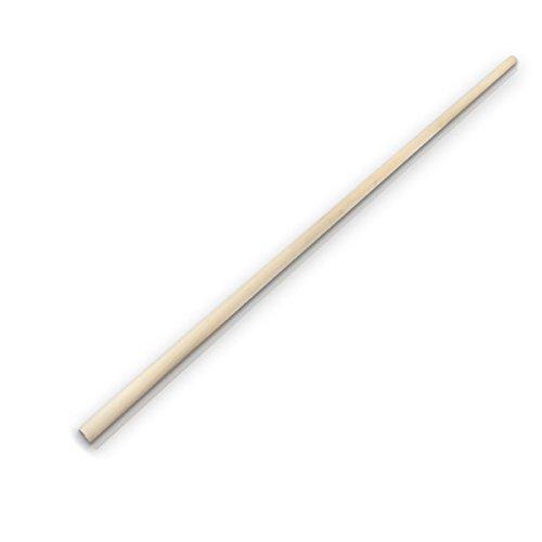 10x Gerätestiel Holzstiel Besenstiel Holz Stiel Ø 22 mm 150 cm Buche