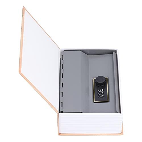 Eosnow Book Safe Box, Soft Touch Diseño único Buen ocultamiento Caja Fuerte para Guardar artículos valiosos