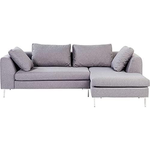Kare Design Canapé d'angle Bruno Panini Petit Gris Droite