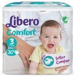 Libero Comfort pannolini taglia 3 (Kg 5/9) 180 pannolini
