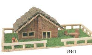 Keranova 35201 - Kits maqueta de ladrillos casa escala 1:20