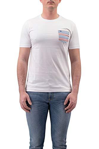 Harmont & Blaine IRF110021078 Camiseta, Blanco, 3XL Hombre
