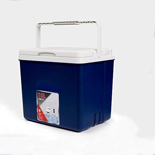 FZYE Enfriador y Calentador eléctrico portátil, Mini Caja de Enfriador de refrigerador para Viajes de Campamento en automóvil, Enfriador de Cubitos de Hielo con asa de Transporte-b 29x2