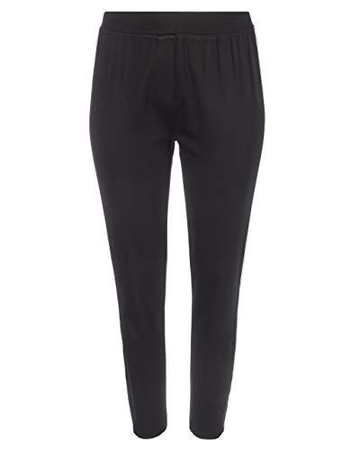 THEA by Adler Mode Damen Romanit-Leggings schwarz mit weiß 60
