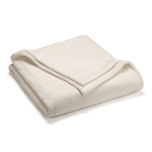 Vellux Sheared Mink Full/Queen Blanket, Ivory