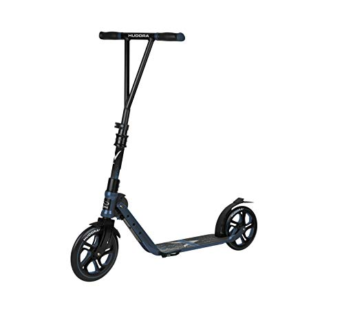 Hudora Big Wheel Generation V 230 - Patinete para jóvenes y Adultos, 14118, Azul, 230