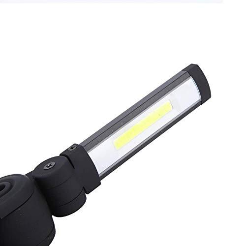 Socobeta Luz Antideslizante de 360 Grados para el Mantenimiento del Trabajo, Actividades al Aire Libre(Rojo)