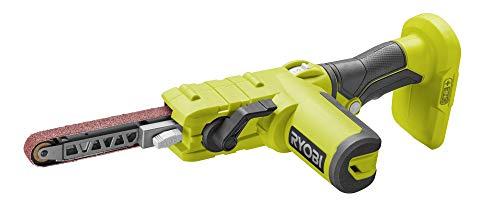 Ryobi 5133004179 Lime à ruban 18 V Dimensions 13 x 457 Vitesse jusqu'à 630 m/min, 3 bandes abrasives sans batterie) R18PF-0