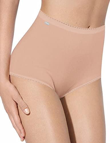 Playtex Pure Cotton Brief - Braguita para mujer, paquete de 2 x 3 unidades, color beige (skin), talla 54 EU