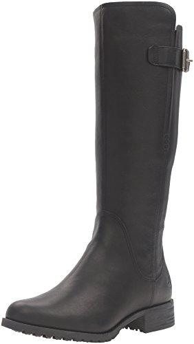 Timberland Banfield Tall Medium Shaft Wp Boot Stivali da equitazione, Jet Black Forty, 36 EU