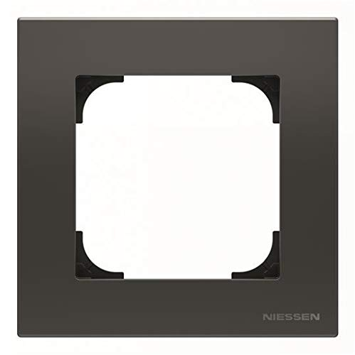 Niessen 8571 Marco 1 Ventana NS, Negro Soft