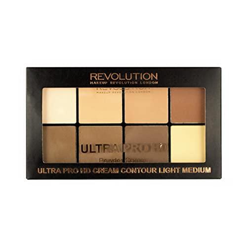 Makeup Revolution Ultra Pro HD Powder Contour Palette, Highlight,...