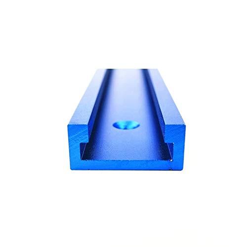 LF&LQEW 1pcs / Set T-Pistes Standard en Aluminium sous Mitre Piste Jig JIG Table à toupie, scies à Ruban 30/45 Piste Arrêter Le Travail du Bois Outil Bricolage (Taille : 800mm T Slot)