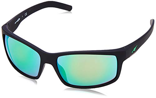 Arnette 0AN4202 447/3R 62 gafas de sol, Negro (Fuzzy Black/Lightgreenmirrorgreen), Unisex-Adulto