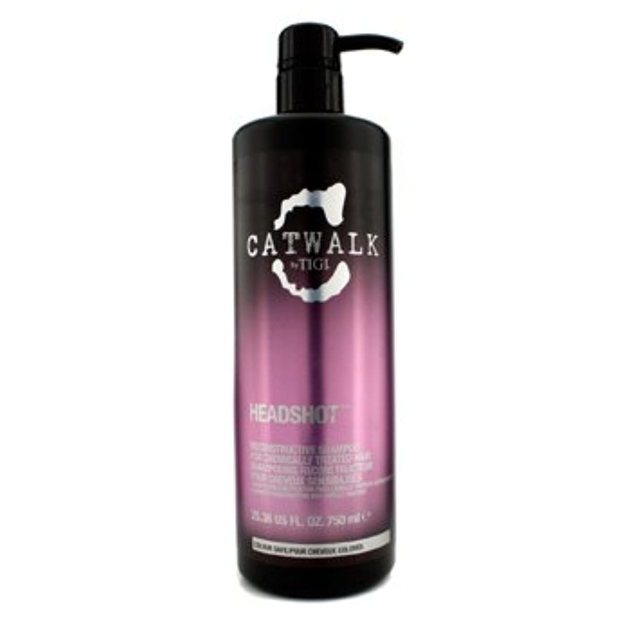 シロクマ誓約冬[Tigi] Catwalk Headshot Reconstructive Shampoo (For Chemically Treated Hair) 750ml/25.36oz