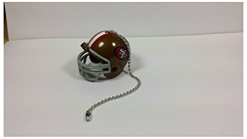 NEW NFL Ceiling Fan Helmet Pull Chain Lamp Pull Chain (San Francisco 49ers)