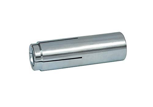 CONFAST 1/2' (Inside/Screw 1/2'-13 Diameter) Drop-in Anchor Zinc Plated with 1 Setting Tool (50 per Box)