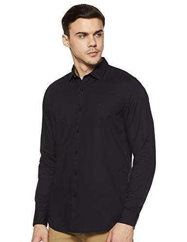 Allen Solly Men's Plain Slim Fit Casual Shirt