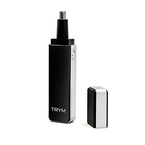 Pure Enrichment TRYM Nose Hair Trimmer with LED Grooming Light for Precision Trimming - Sleek and Premium Design Ideal for Trimming Your Nose, Ears, and Eyebrows