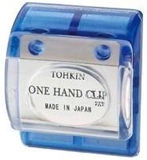 ( お徳用 200セット ) トーキンコーポレーション ワンハンドクリップ OC-B 青色