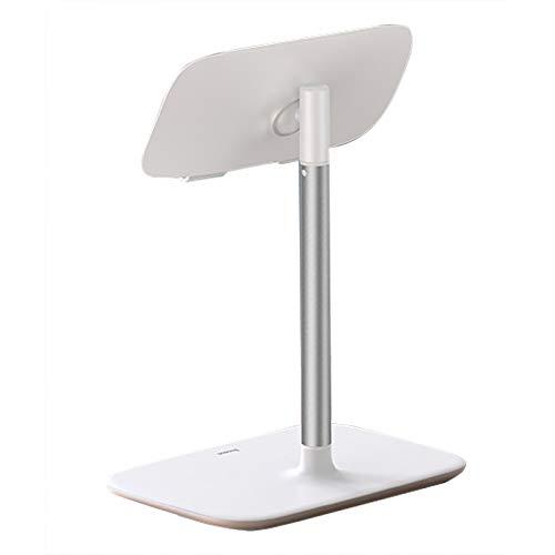 Soporte para Teléfono Plegable Telescópico, Diseño De Elevación Ajustable De 270-350 Mm Sin Vuelcos Ni Sacudidas Soporte Protector De Silicona para Teléfono, Escritorio Soporte para Tableta