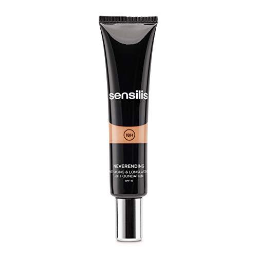 SENSILIS Neverending 05 Gold. Maquillaje Antiedad SPF 15. 30 Ml.