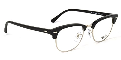 【レイバン国内正規品販売認定店】RX5154 2000 51サイズ Ray-Ban (レイバン) メガネフレーム と ダテメガネ用レンズ(度なし) のセット